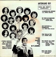 """7° ZECCHINO D'ORO con 6 brani 7""""EP 1965 RFE EP 15111 Antoniano con INSERTO RARO"""
