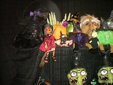 Halloween Collection Witches and Other Misc Decorations (33 items total)