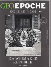 GEO EPOCHE KOLLEKTION Nr. 12: Die Weimarer Republik, aus Herbst 2018