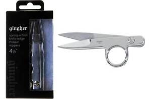 Gingher 220671-1101 Spring-action Knife-edge Thread Nippers