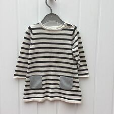 H&M Cotton Blend Striped Clothing (0-24 Months) for Girls