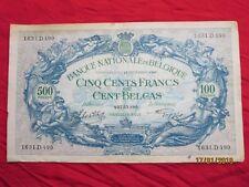 Belgium - Belgium 500 Francs - 100 Belgas 1943 - Xxiiix