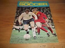 Football Magazine World Soccer July 1972 Alf Ramsey Rangers George Best Moscow