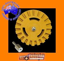 HEAVY DUTY TRACTOR PIN STRIPE REMOVAL/ CARAMEL WHEEL.REMOVE DECALS/STICKERS