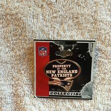 Property Of New England Patriots Pin