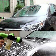 8 Spray Pattern Adjustable Water Gun&Soap Dispenser-Garden Hose Nozzle Car Wash