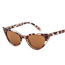 Fashion Women Retro Leopard Cat Eye Sunglasses Classic Vintage Eyeswear Shades