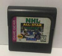 NHL All-Star Hockey Sega Game Gear Cartridge