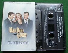 Mad Dog and Glory OST Elmer Bernstein Cassette Tape - TESTED