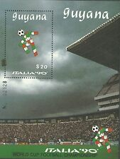 Guyana 1989 - Sports World Cup Soccer Championships Italy 90 S/S - Sc 2224 MNH