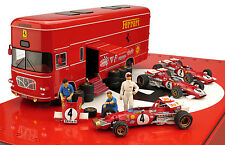 Brumm RTS04 Ferrari 312B Italian GP 1970  Race Transporter 3 Car Set - 1/43