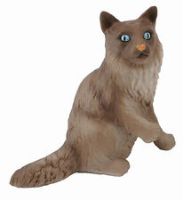 Free Shipping | CollectA 88321 Birma Birman Cat Sitting Toy Cat - New n Package