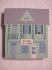 The Cats Meow Stone'S Restaurant Series Xi 1993 Wood Accessory
