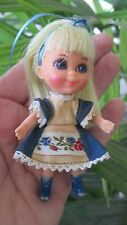 Vintage TLC Liddle Kiddles Alice In Wonderland Wonderliddle Storybook Doll Only