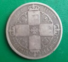More details for 1873 mdccclxxiii florin victoria silver coin