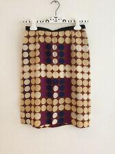 MARNI For H&M Size EUR 38 Stunning Polka Dot Women's Skirt 100% Silk