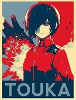 Poster 42x24 cm Tokyo Ghoul Kaneki Kagune Manga Anime Cartel 02