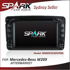 """7"""" GPS NAVIGATION DVD SAT NAV IPOD BLUETOOTH FOR MERCEDES C/CLK/M/G Class W209"""