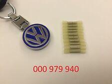 10 VOLKSWAGEN AUDI VW BUTT CONNECTOR FOR REPAIR WIRE 000979940 000 979 940