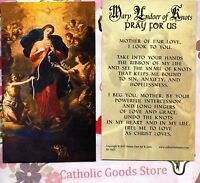 Our Lady, Undoer of Knots with Prayer to Our Lady - Paperstock  Holy Card