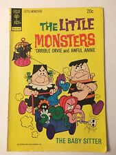 The Little Monsters Orrible Orvie Awful Annie Gold Key Comics Book no. 25 1974