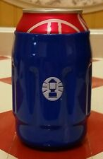 Coleman Lantern koozie Beer Soda hugger holder coozie camping cooler gear Blue!!