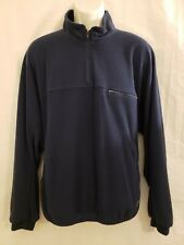 Footjoy F J Mens Long Sleeve 1/4 Zip Pullover Lined Golf Sweater Jacket Size L
