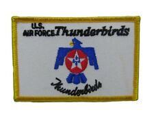 U.S. Military Air Force Thunderbirds Flag Wholesale lot of 6 Iron On Patch