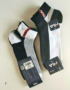 6 Paar Herren FILA Socken Multi -Sport Sneaker Kurzsocken  Neu in OVP