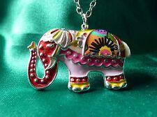 BELLISSIMO bonsny Elefante Collana, Regalo di Natale, Fashion / costume, multiplo, Zoo, GRAZIOSI