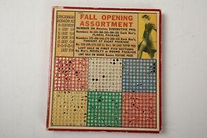Punch Board Game (O3R) Vintage Raffle Bingo Prize Hole Retro Pinup