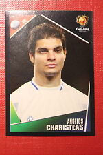 Panini EURO 2004 N. 46 HELLAS CHARISTEAS NEW With BLACK BACK TOPMINT!!