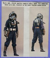 S. WARS IMP. T.I.E. PILOT ADULT ARMOR SET from my $5 mail order prop catalog