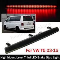 Centre 3RD High Level LED Tail Stop Brake Light For VW TRANSPORTER T5 2003-2015