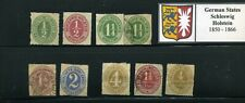 German States Schleswig-Holstein Small Collection - Mh / Used