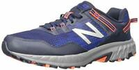 New Balance Mens 410v6 Fabric Low Top Lace Up Running Sneaker, Blue, Size 13.0 W