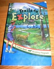 Abeka Grade 4 4th Reader ~ Trails to Explore ~ Homeshool Reading L420