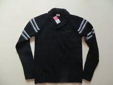 Levi's Herren Pullover Gr. M, schwarz, NEU ! warmer Strick Pulli, 100 % Wolle !