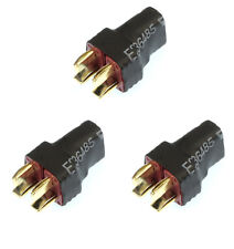Apex RC Products No Wire Ultra T Plug (Deans) Parallel Adapter Plug-3 Pack #1276
