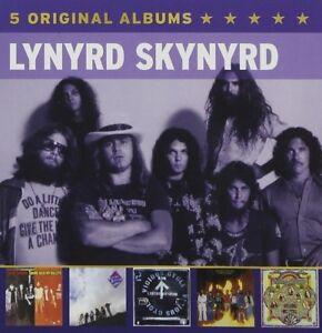 LYNYRD SKYNYRD - 5 ORIGINAL ALBUMS 5 CD NEU