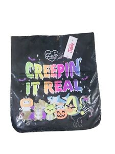 Justice Girls Halloween Trick Or Treat Bag NEW