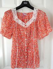 Per Una Pure Cotton Floral Lace Top - BNWT, Size 18, was £29.50