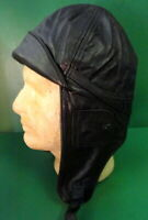 IMPERIAL GERMAN AVIATOR'S LEATHER FLYING HELMET