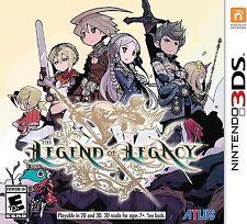 The Legend of Legacy [Nintendo 3DS, NTSC, Platform Exclusive JRPG] NEW