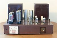 Vintage Fisher 55A Mono Tube Amplifier - 50A 50AZ Family