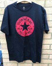 Converse Mens Tshirt Black Medium / Large