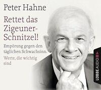 PETER HAHNE - RETTET DAS ZIGEUNERSCHNITZEL UND FINGER WEG VON U 4 CD NEU