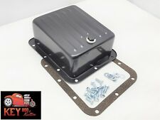 Ford C4 Black Deep extra capacity transmission pan Mustang f150 truck Bronco