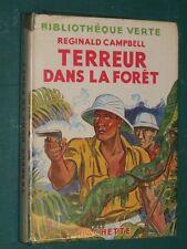 Terreur dans la forêt Reginald CAMPBELL Bibliothèque verte