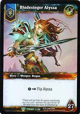 WOW Bladesinger Alyssa TWLIGHT 2/220 FOIL - WORLD OF WARCRAFT ENG MINT